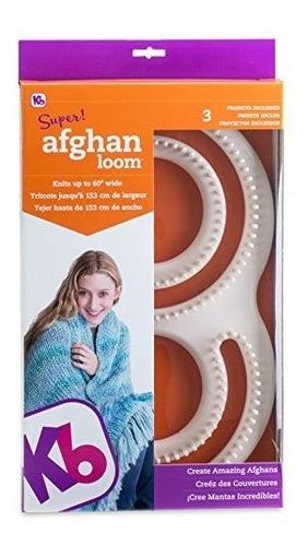 Telar De Tejido Afgano Autentico Authentic Knitting Board