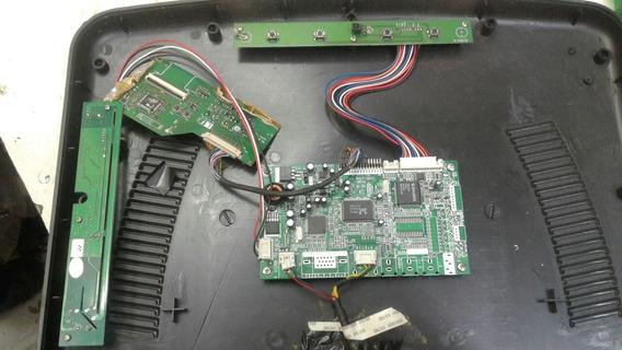 Placa Do Monitor Booster 15p Bm-1500t