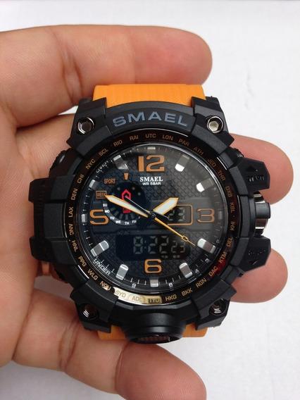 Relógio Masculino Smael 1545 Esporte Frete Grátis.
