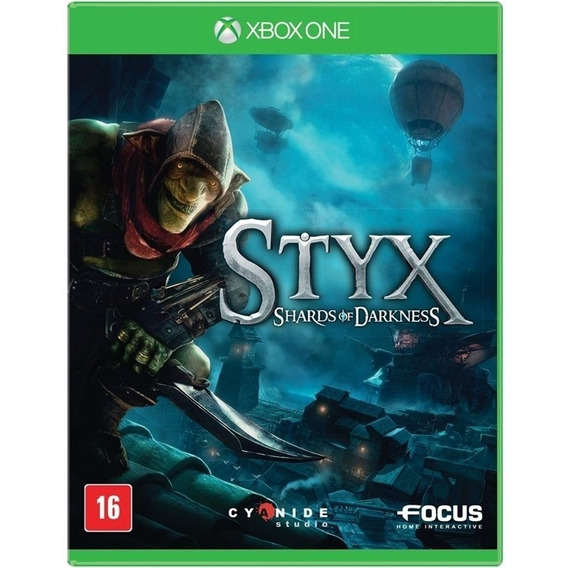 Styx Shards Of Darkness Xbox One Disco Fisico Game Original