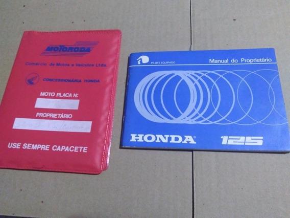 Manual Proprietário Moto Honda Cg 125 - 125 Ml - Turuna Orig