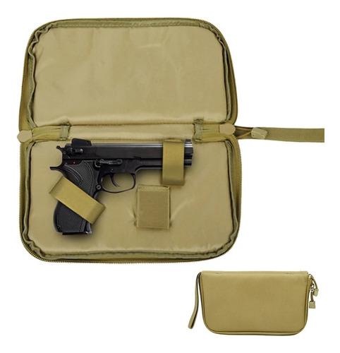 Bolso Pistola Cargador Magazine Gun Airsoft Tactico Tan