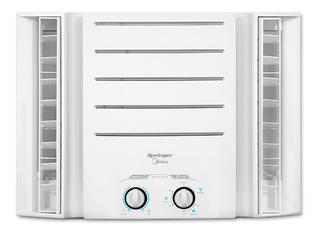 Ar condicionado Springer Midea de janela frio 7500BTU/h branco 127V QCI078BB