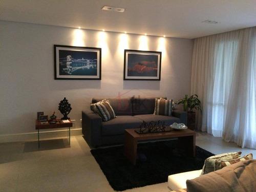 Imagem 1 de 17 de Apartamento À Venda No Morumbi, Rua Leonardo Cerveira Varandas, 50. 3 Suites, 141m². 2 Vaga De Garagem. Villa Almafi, Morumbi. - Ap5005