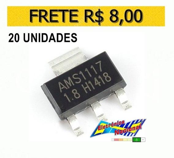 Ci Smd Regulador Tensao Ams1117 1v8 1.8v - Lote 20 Unidades
