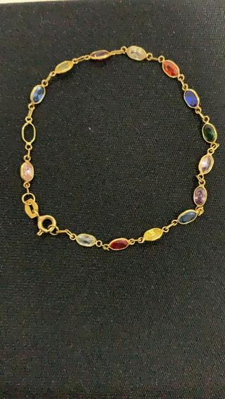 Pulseira De Ouro Bracelete