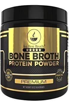 Genuine Grass Fed Organic Bone Broth Protein Powder Collagen