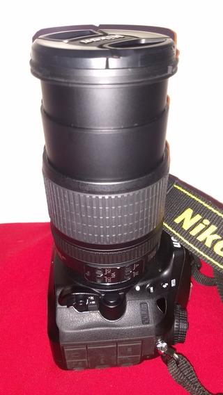 Nikon D7100 Mais Lente 18-105 Perfeito Estado E Funcionament