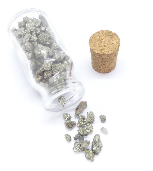 Garrafa Da Prosperidade De Pirita - Prosperity Minerais