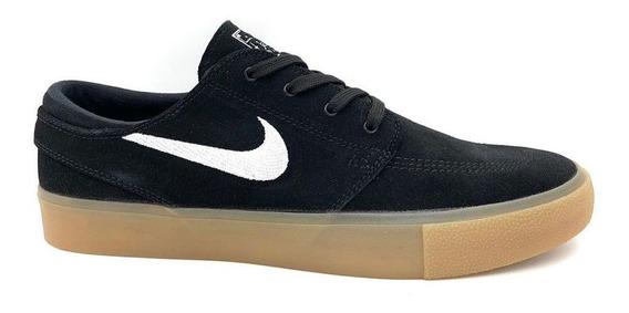 Tênis Nike Sb Zoom S. Janoski Black/white/gum Aq7475-003