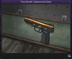 Five-seven Galáxia De Cobre - Csgo Skin