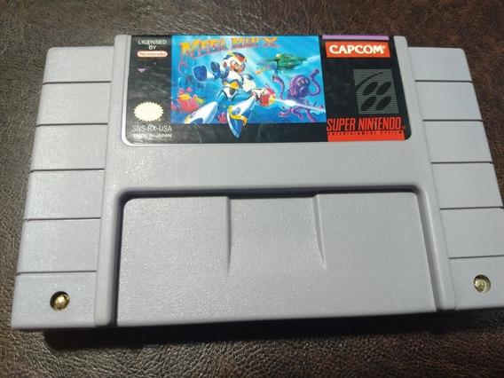 Megaman X Snes Super Nintendo