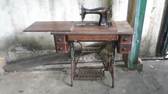 Antiga Maquina De Costura Singer Americana