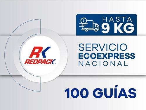 100 Guías Prepagadas  Ecoexpress Hasta 9 Kg