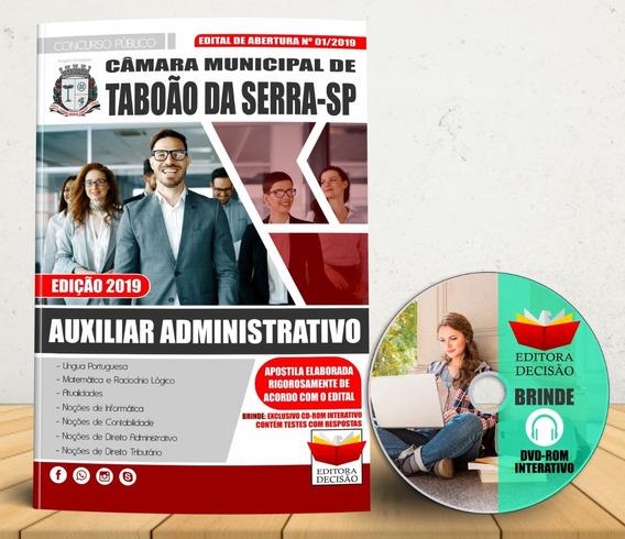 Apostila Concurso Taboão Da Serra Auxilar Administrativo