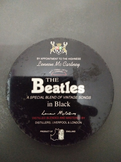 Cd The Beatles A Special Blend Of Vintage Songs In Black