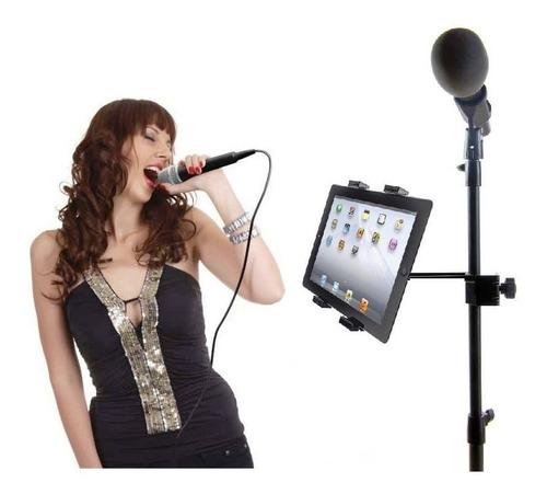Adaptador Para Tripode Microfono Holder  Tablet iPad Dj