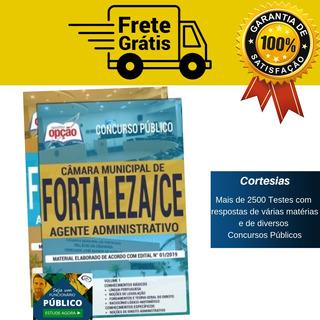 Apostila Agente Administrativo Câmara Municipal Fortaleza Ce