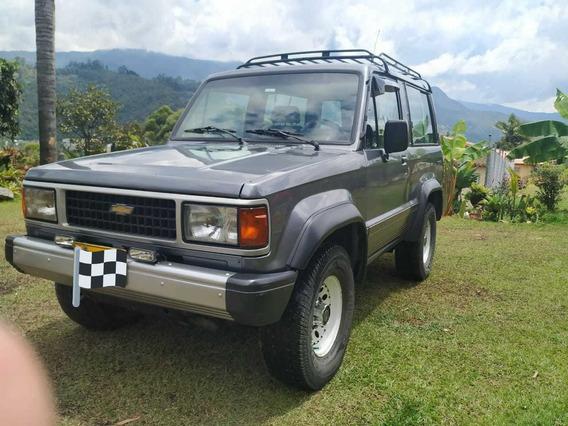 Chevrolet Trooper Motor 2600 Modelo 1994 Gris 3 Puertas
