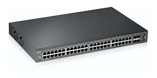 Switch Zyxel 24 Port Gigabit Ethernet L2 Managed 4 10g Sfp ®