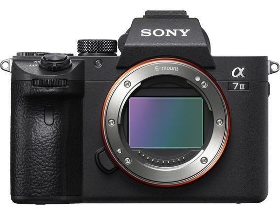 Corpo Câmera Full Frame Sony A7 Mark Iii