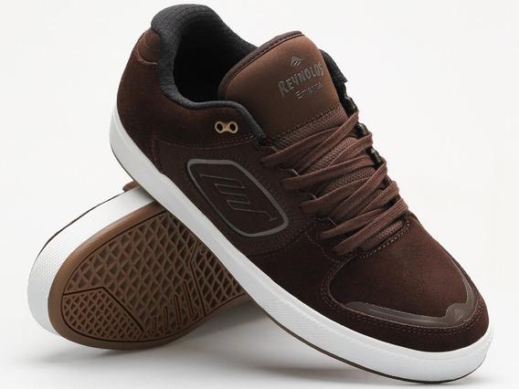 Emerica - Reynolds G6 25.5mx / Brown White / Tenis Skate