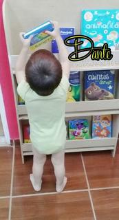 Biblioteca Infantil Estilo Montessori Pintada