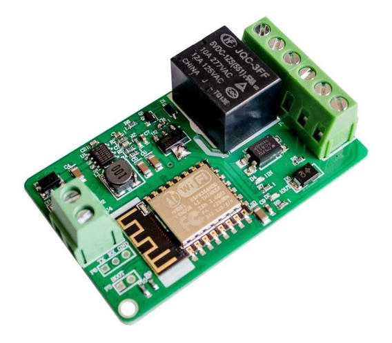 Chave Rele Liga-desliga Wi-fi Esp8266 Esp12f Wifi Pra Sensor