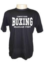 Camiseta Divertidas Boxe Luta Mma Muay Thai Academia Esporte