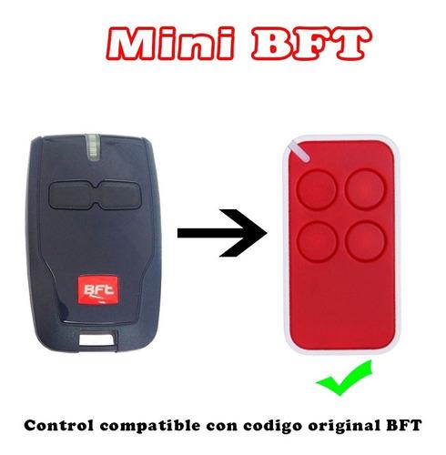Imagen 1 de 3 de Control Remoto Mini Bft