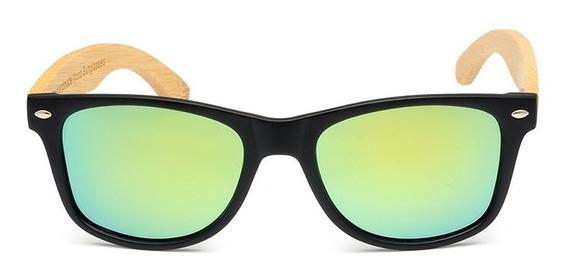 Óculos De Sol De Madeira Artesanal Bobo Bird Double Cg004