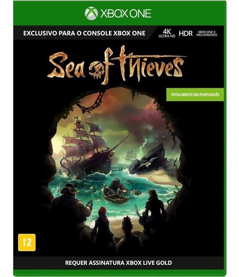 Jogo Mídia Física Sea Of Thieves Original Para Xbox One