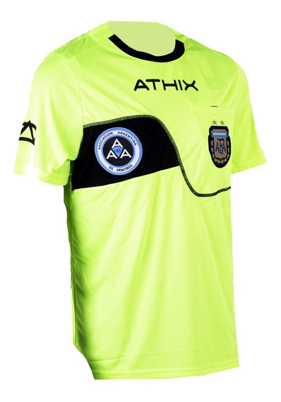 Camiseta Arbitro Athix Oficial Afa Aaa - Casaca Referee Afa