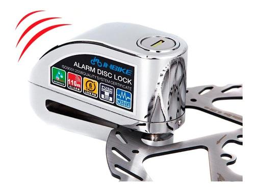 Imagen 1 de 3 de Candado Bloqueo Disco Con Alarma Tipo Fuerte Moto Bicicleta