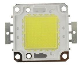 Super Led Chip 100w 36v Branco Frio