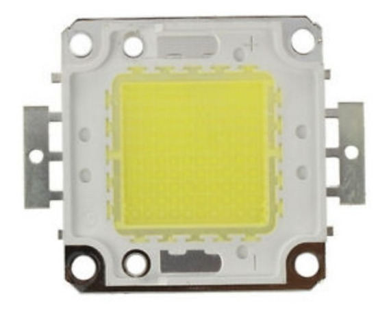 Super Led Chip 100w 36v Branco Frio