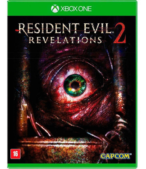Resident Evil Revelations 2 Xbox One Mídia Física Lacrada