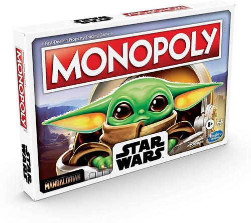 Jogo Tabuleiro Monopoly Star Wars The Child Hasbro F2013