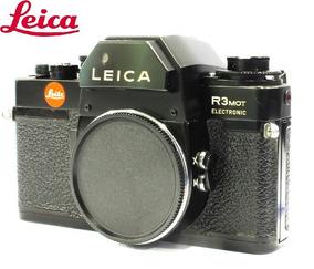 Câmera Leica R3 Mot Eletronic Com Motor - Usada C/ Garantia