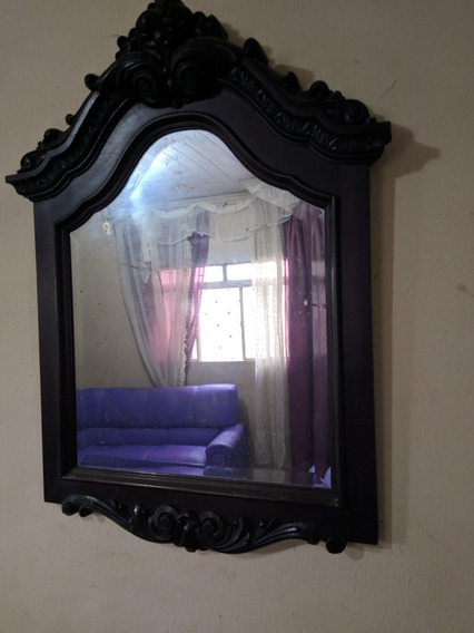Espelho Colonial Antigo, Madeira Nobre