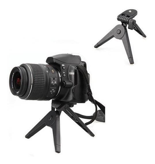 Mini Tripé Dslr P/ Nikon D5200 D5300 D5700 D57100 Retrátil