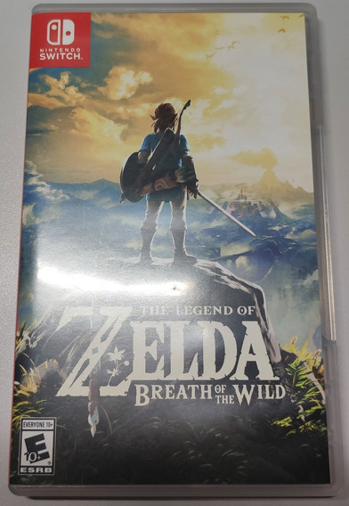 The Legend Of Zelda: Breath Of The Wild - Mídia Física