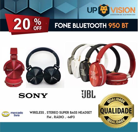 Fone Jbl E Sony Sem Fio 950bt
