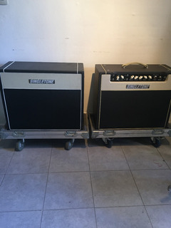 Amplificador Valv Singletone + Cabinet + Anviles Ver Video!!