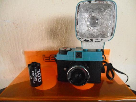 Câmera Fotográfica Retrô Diana Mini ( Flash Não Funciona )