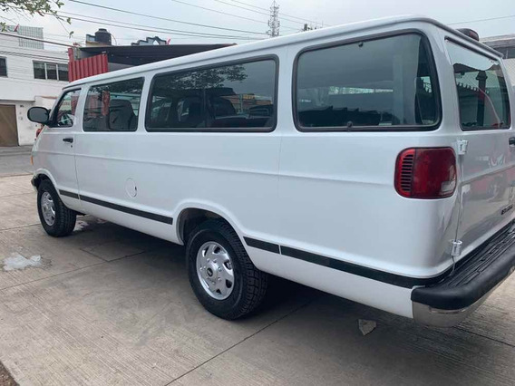 Dodge Ram Wagon 5.9 3p Maxi Wagon 3500 Slt Aa Mt 2001