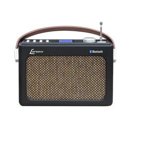 Radio Lenoxx Retrô Fm Usb Aux Sd Bluetooth Biv Rb90 Outlet