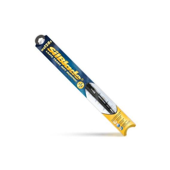 Hoja Limpiadora De Silicona Negra Silblade Wb128s Premium, 2