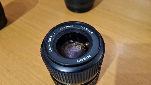 Objetiva Nikon 35-70mm, Com Função Macro, Foco Manual