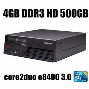 Computador Lenovo Mt-m6234 Core2duo Hd500gb 4gb Ddr3